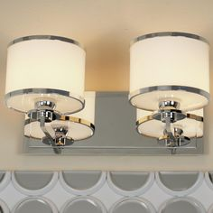 well appointed bath light 2 light available in 4 colors. Black Bedroom Furniture Sets. Home Design Ideas