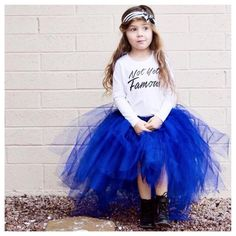 """Little Wonderland Clothing on Instagram: """"Hello.....Dollface!! Tinley go on with your little model self... <give this girl a runway> Looking to fab in our •Not Yet Famous tee• + obsessed with her •AMAZING• Monroe tutu @tinandella <of course I got my girl 2> ❤️ cute little headband @briabay  In the end we will all be famous  #girl #fashion #fashionista #kidsfashion #model #blue #fleece #hipkidfashion #trendy #style #igkiddies #stylish #stylishkids #rad #baby #love #ootd #fame #love"""