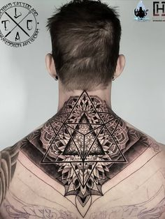 Little neck/shoulder mandala/geo piece as part of a back piece Insta: Fb: leighstca For all bookings an enquiries contact me directly at my Fb page: leighstca - off discount code: .