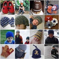 crochet/knit patterns for boys