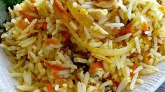 Fragrant basmati rice sauteed with carrots, onions, fresh ginger, peanuts, and cilantro.