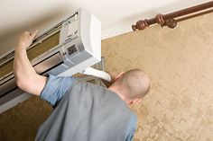 Photo about Air conditioning master installs a new air conditioner in the apartment. Image of construction, building, manual - 19310322 Forest Illustration, Conditioner, Construction, Stock Photos, News, Building, Woodland Illustration