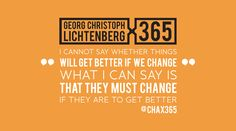 Quote by Georg Christoph Lichtenberg // Designed by CHAx365