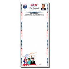 Full Color Notepads | 4th of July USA Kids