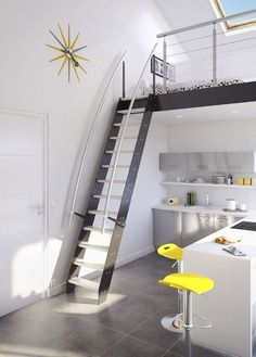 escala a tu segundo piso escaleras espacios reducidos curva ideas de inspiracin pinterest escaleras espacios reducidos espacios reducidos y