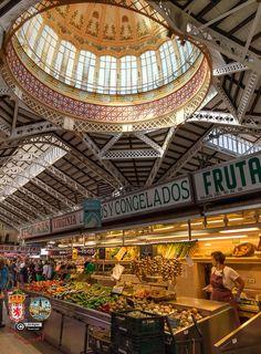 El Mercado Central by FJcuenca Central Market, Secret Life, Looking Up, Tower, Building, Travel, Sevilla Spain, Rook, Viajes