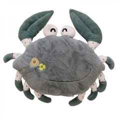 Pink crab cartoon decorative pillows for couch Cute animal sofa cushions