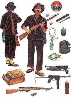 """""""Viet Cong Fighter: Village defense and Local Forces"""", Howard Gerrard"""