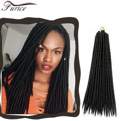 Crochet Curly Hair Eextensions 18inch Crochet Twist Hair 24Strands Faux Locs Crochet Braids Hair Twist Soft Dreadlock Bule Color