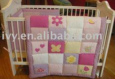 flores bordado patchwork de cama bebé juego-Productos Cama-Identificación del producto:269737244-spanish.alibaba.com