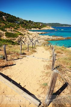 Path to The Beach, Ramatuelle, Provence-Alpes-Cote d'Azur
