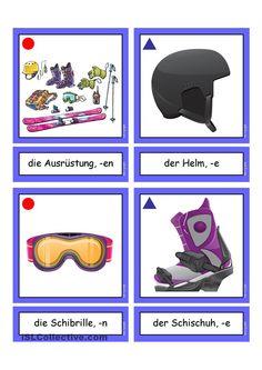 Flashcards_ Wintersportgeräte & Winterausrüstung 2 _mittel