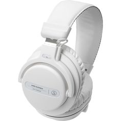 bc53ce07f58 Audio-Technica ATH-PRO5XWH Professional Over-Ear DJ Monitor Headphones,  White