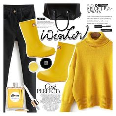 """""""Sweater Weather"""" by vanjazivadinovic ❤ liked on Polyvore featuring Givenchy, Hunter, Whiteley, Gisou by Negin Mirsalehi, Bobbi Brown Cosmetics, polyvoreeditorial and zaful"""