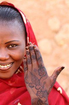 Henna :) I love how far it's traveled