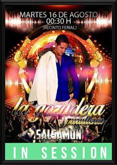 Actuación de Salsamon Dj para éste martes, pinchando en la Caseta de la Gozadera, en las fiestas de Purullena a partir de las 23:30, para  que la gente no pare de bailar.....
