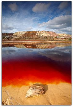 Earth Blood, Rio Tinto, Huelva, Andalucia, Spain