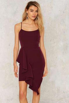 baf6b3bb64 Charice Ruffle Dress
