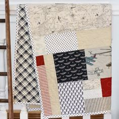 """A """"lazy quilters quilt"""" tutorial, where no measuring is required!"""