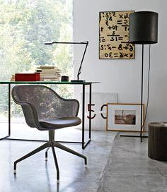 Luta chair from B&B Italia. | Home office #bebitalia #interiordesign #design