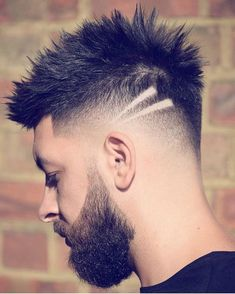 12 New Hairstyles For Men For 2018 Medium Hair Cuts, Short Hair Cuts, Short Hair Styles, Fade Haircut Styles, Hair And Beard Styles, Trendy Mens Haircuts, Haircuts For Men, Haircut Men, Hair Designs For Men