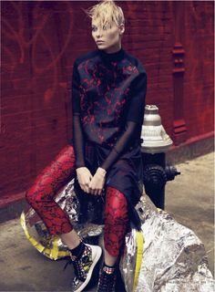 nice Marie Claire US | Editorial de Moda Junho 2013 | Vika Falileeva por David Roemer