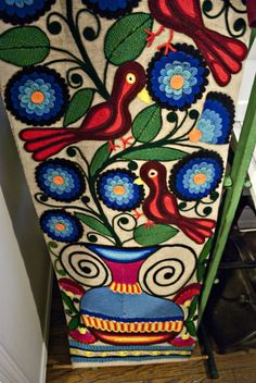 Love folk art...