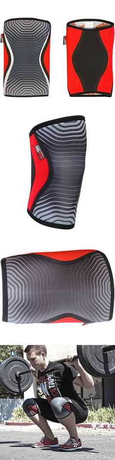 Wrist and Knee Wraps 179821: Rocktape 7Mm Knee Caps For Deadlifts, Pistols And Squats - Xs - Red -> BUY IT NOW ONLY: $54 on eBay!