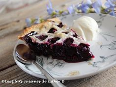 La Tarte aux Bleuets de Matante Cécile French Food, Frittata, Cheesecakes, Muffins, Deserts, Health Fitness, Pudding, Baking, Fruit