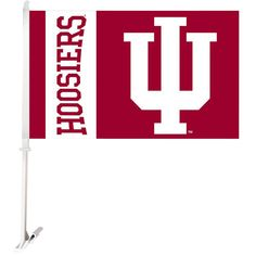 Indiana MINI BANNER FLAG GREAT FOR CAR /& HOME WINDOW MIRROR 2 SIDE