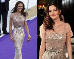 My three loves: Kate, Leighton, and Jenny Packham