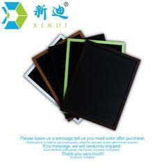 Ücretsiz Kargo Yeni MDF Için 5 Renkler Çerçeve Küçük Manyetik Ahşap Blackboard Fakirler A4 Boyutu 20*30 cm Ev dekoratif Tebeşir Kurulu
