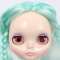 """Takara 12"""" Neo Blythe Nude Doll from Factory 491 Mix Hair Limited Sold #Takara"""