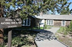 Museum of the National Park Ranger at Yellowstone