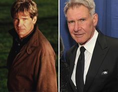 Men of the '90s -- Then & Now   TooFab Photo GalleryHarrison Ford