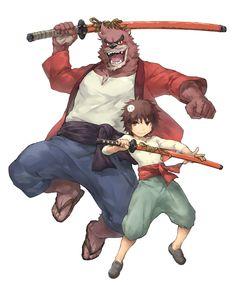 The Boy and the Beast #Kumatetsu #Kyuta