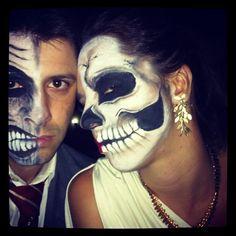 Halloween make up! Halloween Make Up, Halloween Face Makeup, How To Make, Beauty, Beauty Illustration, Halloween Makeup