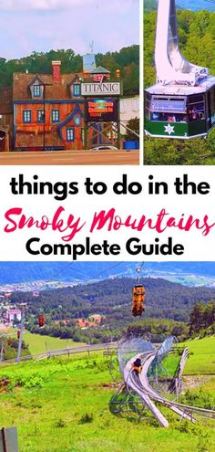 The last guide to things to do in the Smoky Mountains you will ever need! In our guide we give you all the best things to do in the Smoky Mountains in every season. Want to know the best hiking trails in the Smoky Mountains in the Fall? We've got that? Festivals in the Smoky Mountains in the Winter? Got that too...and so much more! #smokymountains #tennessee #gatlinburg #pigeonforge #hikingtrails #greatsmokymountains #outdoorliving #vacation #familytravel