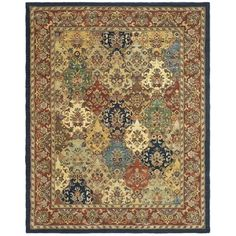 Shop for Safavieh Handmade Heritage Heirloom Multicolor Wool Rug (8' x 10'). Get free shipping at Overstock.com - Your Online Home Decor…