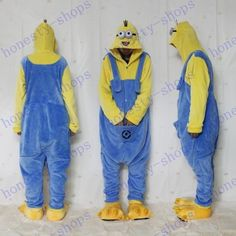 Brand New Despicable Me Minion Romper Onesies Pajamas Jumpsuit Hoodies Adults Cosplay Costumes For Halloween And Carnival From Honesty Shops, $31.42 | Dhgate.Com