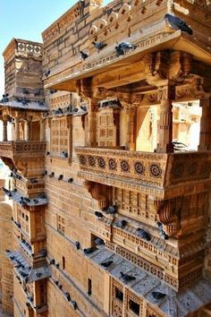 3 Of The Best Romantic Getaways in India: Jaisalmer Indian Architecture, Ancient Architecture, Amazing Architecture, Mosque Architecture, Cultural Architecture, Places Around The World, The Places Youll Go, Places To Visit, Around The Worlds