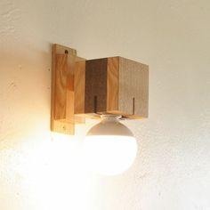 cubra  木製ブラケットライト
