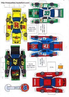 Race Cars Paper Models