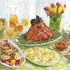 18 Festive Easter Menus    Easter Supper Menu   MyRecipes.com