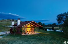 This Modern Montana Home Puts an Elegant Spin on Rustic Living Photos | Architectural Digest