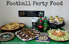 Football Party Food :: Recipes on HoosierHomemade.com