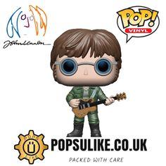John Lennon, Beatles, Pop Vinyl Figures, Disney Marvel, Funko Pop Vinyl, Thor, Fictional Characters, The Beatles, Fantasy Characters