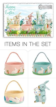 """""""Easter me Bunny!"""" by lence-59 ❤ liked on Polyvore featuring art"""
