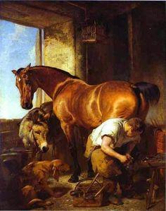 25 paintings with horses http://designmuitomais.blogspot.com.br/2014/11/25-pinturas-com-cavalos.html