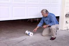 How to Safety Test a Garage Door • Ron Hazelton Online • DIY Ideas & Projects